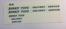 DINKY 582/982 PULLMORE CAR TRANSPORTER  Decal/Transfers set