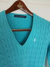 Ladies RALPH LAUREN SPORT jumper/sweater. Size large. Immaculate RRP £110.