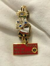 Lions Club Md -21 Arizona 1985-86 New Orleans Lapel Hat Pin Button