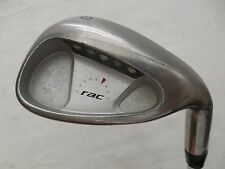 Used TaylorMade RAC OS SW Sand Wedge Rifle Regular Flex Steel Shaft 37""