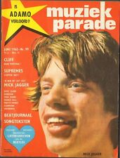 MUZIEK PARADE 99 Mick Jagger SUPREMES France Gall PRETTY THINGS POSTER Beatles