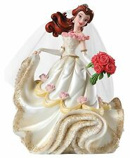 Disney Showcase Haute Couture Beauty Beast Belle Wedding Figurine 20cm 4045444