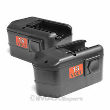 2 x NEW 18V 18 VOLT BATTERY for MILWAUKEE 48-11-2200 48-11-2232