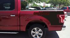 F-150 Ford Raptor Style Bedside Vinyl Decal Graphics 2010-14 Many Styles colors