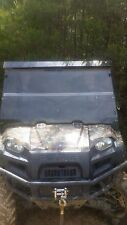 2009-2013  Polaris Ranger 800 Clear Folding Windshield. 1/4 Lexan Free Shipping!