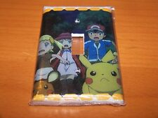 POKEMON PIKACHU AND ASH KETCHUM LIGHT SWITCH PLATE #4