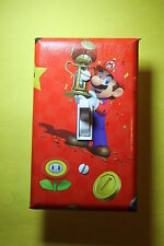 Super Mario Video Game Light Switch Cover Plate gamer room decor nintendo wii u