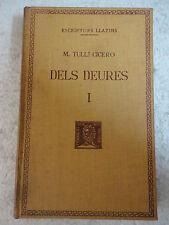 Escriptors Llatins,Dels Deures I M.Tulli Cicero,F.Bernat Metge 1952