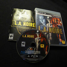 LA Noire for Sony Playstation 3 PS3 video game console - used