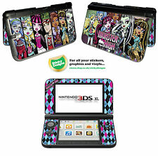 Monster High Piel de vinilo adhesivo para Nintendo 3ds Xl