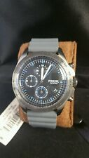 Fossil Watch sport 54, grey silicone chronograph watch CH 3063