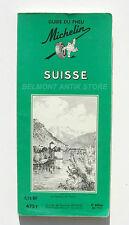 Ancien guide vert - Suisse - Michelin - Château de Chillon - 2eme édition 1958