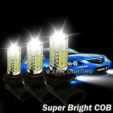 High Power LED COB Bulb Fog Driving Light DRL Lamp 5202 PS24W 9009 H16 H11 C92