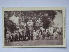 INDIA Indier Truppe des Circus Charles old post card Circo