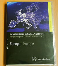 ORIG Navigation DVD logiciel MERCEDES COMAND APS Europe 2016 2017 ntg2.5 jaune