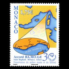 Monaco 2006 - Prevention Against Marine Pollution Map - Sc 2418 MNH