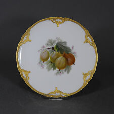 KPM Berlin Neuzierat Obstteller Prunkteller Teller fruit plate Obst porcelain