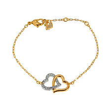 Swarovski Interlocking Crystal Hearts Match Bracelet 1062709