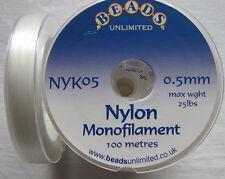 100m Carrete De Nylon Monofilamento - 0.5mm