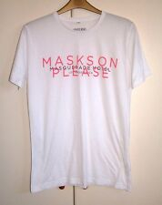 SWEDISH HOUSE MAFIA - MASKS ON PLEASE - OFFICIAL T-SHIRT - SIZE M  - NEW RARE