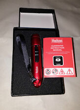 Hadson Turbo Flame Red Lighter & Mini Torch with Gift Box