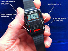 ENGLISH HUMAN VOICE TALKING LCD WATCH 2 ALARMS TIMES ELDERLY BLIND USA SHIP NEW!