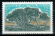 FSAT TAAF French Antarctic 1969, Mi.#47, Sc.#27, Phylica trees, MNH!