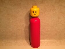 Red LEGO Water Bottle
