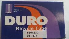 1x Duro 650C Road Bike Tube 650x23c 52mm F/V P/V Presta Valve 4730