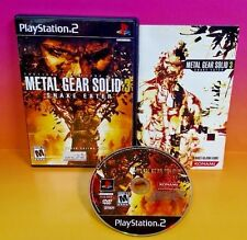 Metal Gear Solid 3: Snake Eater - PS2 Playstation 2 - COMPLETE Rare Game