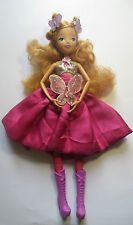 Winx fairy barbie  doll with a butterfly and dress