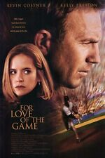 For Love of the Game Original D/S Int'l One Sheet Movie Poster 27x40 NEW 1999