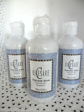 3 diCesare THICKER HAIR Thickening SHAMPOO 8.75 oz each  -NEW @