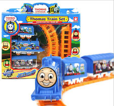 Thomas Electric Trains 3 Cars Kids Train Track Pack Set Railway Track Slot Toys
