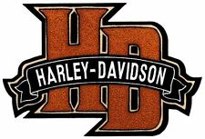 HARLEY DAVIDSON HD11009 HD MONOGRAM CHENILLE AND EMBROIDERY PATCH