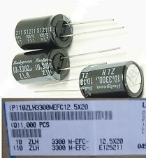 20pcs 3300uf 10v Electrolytic Capacitor 10v3300uf Rubycon High quality Japan cap