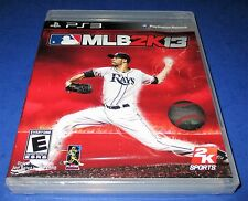 MLB 2K13 Sony PlayStation 3 *Factory Sealed! *Free Shipping!