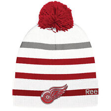 DETROIT RED WINGS 2017 NHL CENTENNIAL CLASSIC REEBOK CUFFED POM KNIT HAT TOQUE