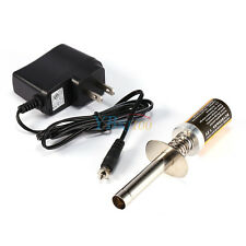 Rechargeable Glow Plug Engine Starter Igniter  + Charger For HSP RC Nitro Car AM