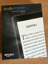 "BRAND NEW AMAZON KINDLE VOYAGE 3G +WiFi TOUCHSCREEN 6"" LIGHT EREADER NOW INSTOCK"