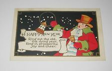 Post Card - Happy New Year - Ring out the old, the dying year. Ring in properity