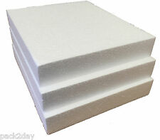POLYSTYRENE CRAFT PADS SD GRADE 240x200x35mm  Pk 8 sheets  `SPECIAL OFFER `.