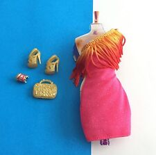 Barbie So In Style S.I.S. Trichelle Dress Ensemble w Fringe Dress w Accessories