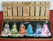 Thomas Pacconi Classics 30 Years 2004 Collection 6-Doll Christmas Ornament Set