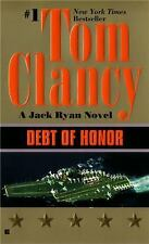 Debt of Honor by Tom Clancy (1995, Paperback) Great Condition