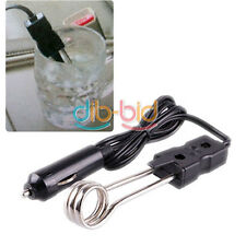 The Portable 12V Car Immersion Heater Tea Coffee Water Auto Electric Heater