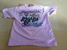 Vintage 1988 Hagerstown Half Mile Grand National Flat Track Motorcycle T-shirt