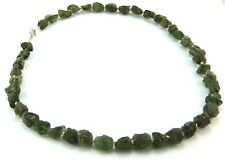 Genuine Large Moldavite Necklace Jewellery 21""