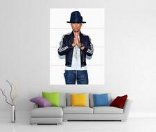 Pharrell williams happy GIANT WALL ART photo imprimé Poster