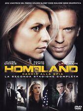 Homeland - Caccia alla spia - Stagione 2 (4 DVD) -ITALIANO ORIGINALE SIGILLATO -